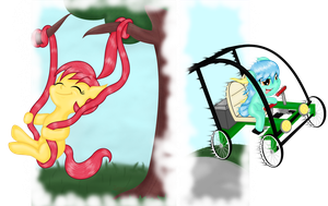 Cherry Churro Swing + Need For Pawning Speed by Inurantchan