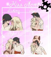 Zayne and Isis kiss meme by jadethemobian