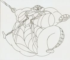 COM Obese Spidergirl by Robot001