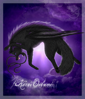 .:The Dark Wolf... -redo by Littlelinky