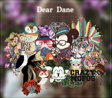 Dear Dane PNG's Hipsters by BiebsDane