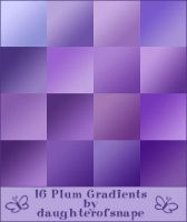Plum Gradients by daughterofsnape