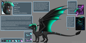 Azail Reference Sheet 2015 by Kelskora