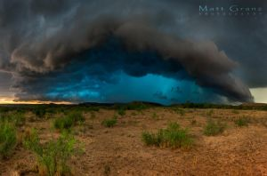 Riding the Blue Core by MattGranzPhotography