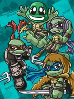 small TMNT by alisa006