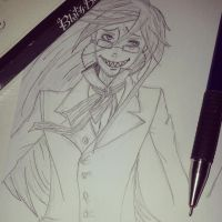 Grell Sutcliff by momovvip