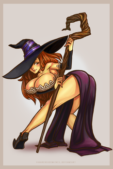 Sorceress by YouAreReadingThis