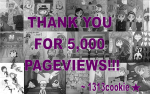 5,000 Pageviews!!! by 1313cookie