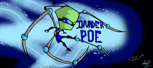 Invader Poe by InvaderZiE