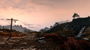 Road to Whiterun by Damyvr
