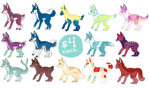 Dog adopts!(OPEN!) by Lodidah