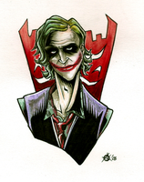 TDK: Joker by ClockworkMurderscene