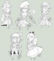 +Commision-CHIBIES PENCIL+ by Dedmerath