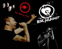 Rise Against Wallpaper by TheAgeOfInformation