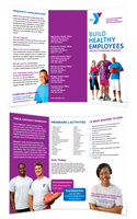 ymca - tri fold brochure by dRoop