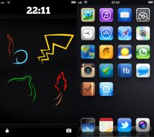 iPhone5 iOS6.1.2 by highdetalio