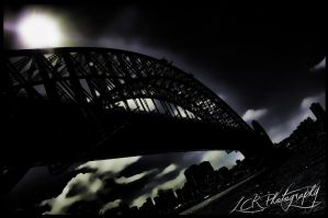 Sydney Harbour Bridge by Miss-Dysfunktion