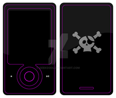 Hacker For Zune with no text by GeekGod4
