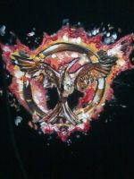 The Hunger Games MockingJay T-Shirt by PipisGamer