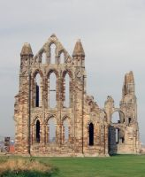 St. Hilda's Abbey on Whitby's East Cliff (UK) by PaulineMoss
