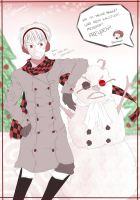 Secret Santa - Der Schneemann by Aloof-Star