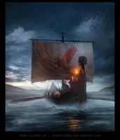 Warrior's Voyage by ReneAigner