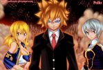 FT 309 loki lucy and yukino by pollo1567