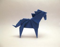 Origami Horse by orimin