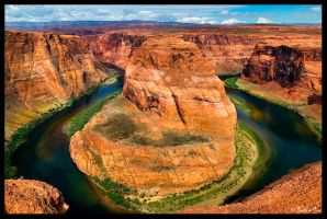 Horseshoe Bend by ChimpyJay