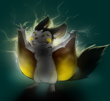 587 - Emolga by possim