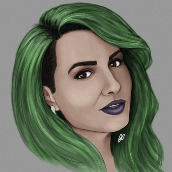 Austen Marie - Artist and Twitch streamer by GCnotPD