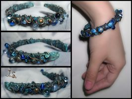 Treasures of the sea bracelet by JSjewelry