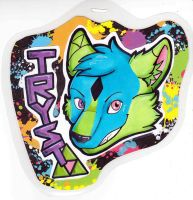 Trysts Badge by dragonmelde