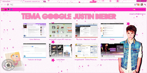 Theme for Google Chrome JUSTIN BIEBER by a-Sonrix