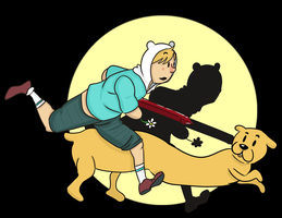 The Adventures of Finn and Jake by the-Assyrian