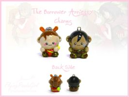 The Borrower Arrietty Charms by FlyingPandaGirl