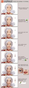 Tutorial: face coloring by sionra