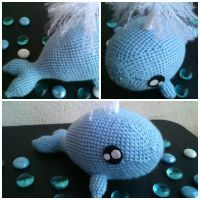 Amigurumi Whale by laine90