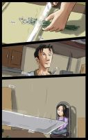 The Florist and the Chef: Pg 1 by TedChen