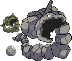 095 - Onix - Art v.2 by Tails19950