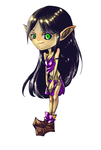 Warrior Zheya Chibi by HonG-t