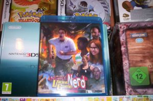 AVGN Movie Blu Ray by laprasking