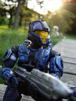 Blue CQB Spartan by Linkgcn64