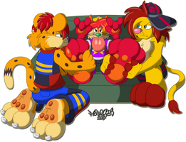 The Royal Paws by Marquis2007