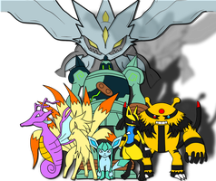 More of My Pokemon by kasanelover