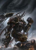 Games Workshop Codex: Black Legion by ukitakumuki