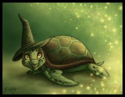 Sasha the Wicked Turtle by DolphyDolphiana