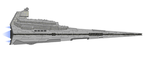 Star Wars KDY Imperial II-class Star Destroyer by Seeras