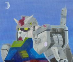 Gundam Painting by chanchimi