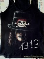 Mick Mars T-Shirt by SavanasArt